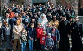 Patriarhul Romaniei la Manastirea Samurcasesti