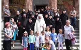 Duminica a 6-a după Paşti la Manastirea Samurcasesti