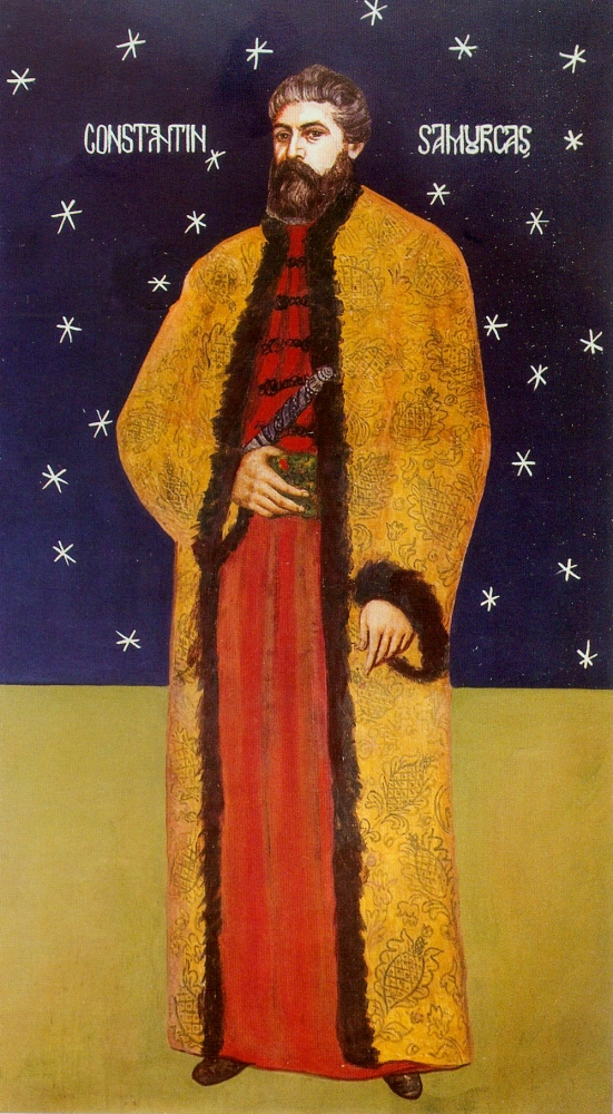 Constantin Samurcas, primul ctitor al Manastirii Samurcasesti - Ciorogarla