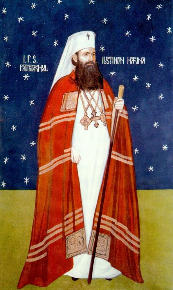 Patriarhul Jusinian Marina, cel de-al treilea ctitor al Manastirii Samurcasesti Ciorogarla