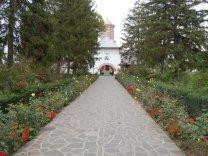 Manastirea Ciorogarla - intrarea
